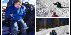 Phone Dump Friday – Family Sledding Day At Beaver Creek