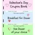 Valentine's Day Coupon Book Printable
