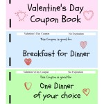 2 Free Valentine's Day Coupon Book Printables