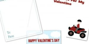 3 Free Printable Valentine's Day Cards