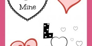 Free Valentine's Day Coloring Printables