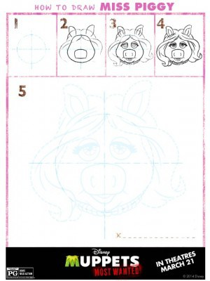 Muppets Most Wanted Printable