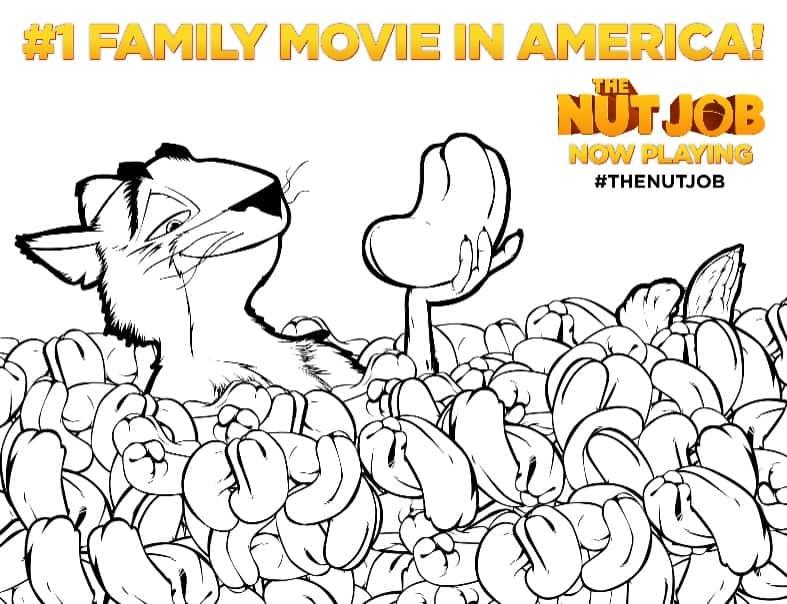 15 Free The Nut Job Movie Printables