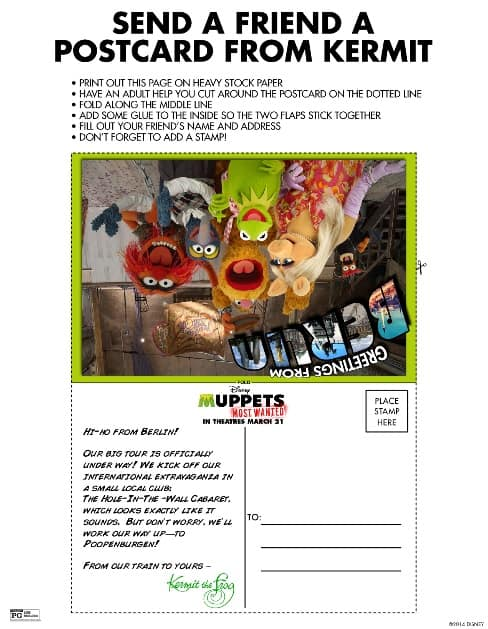 Muppets Most Wanted Printable - Farmer's Wife Rambles
