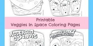 Veggietales Veggies In Space Coloring Page Printables