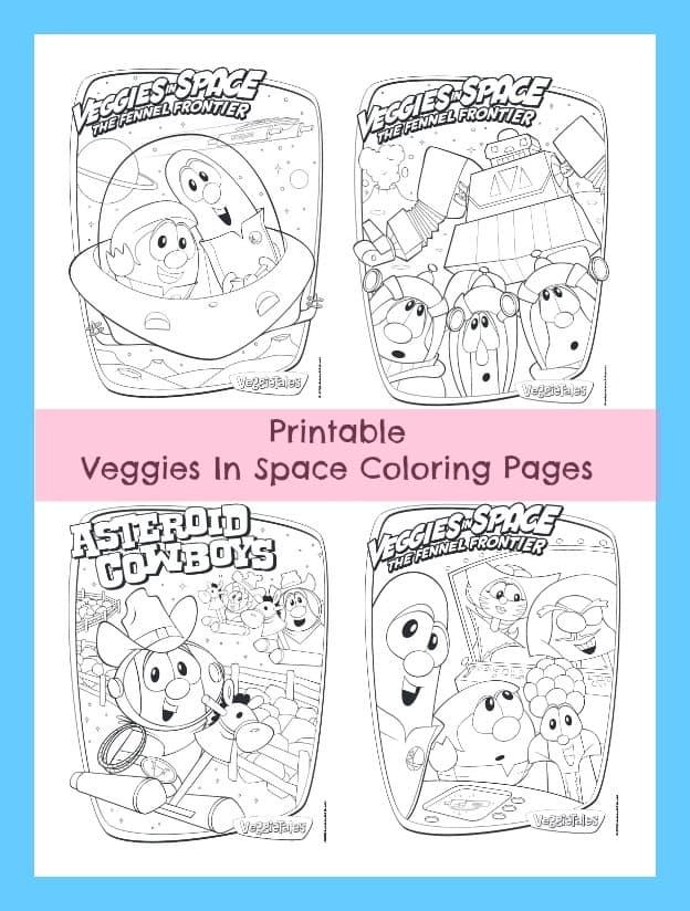 veggietales valentines coloring pages - photo#23