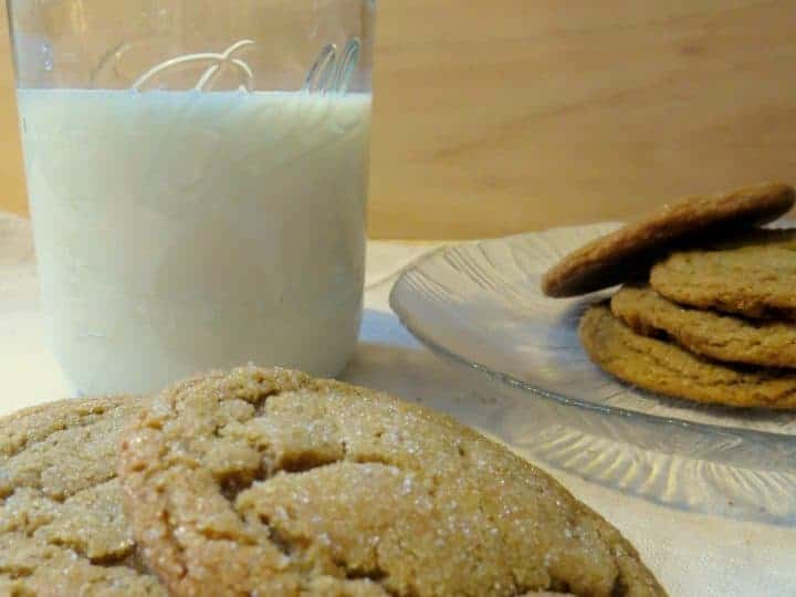 Rustic Molassess Cookies