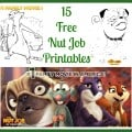 Free The Nut Job Printables