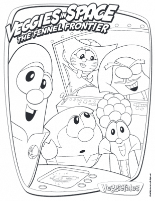 veggietales veggies in space coloring page printable veggietales veggies in space coloring page printable - Veggie Tales Coloring Pages