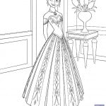 3 Free Frozen Printables ~ Coloring Pages