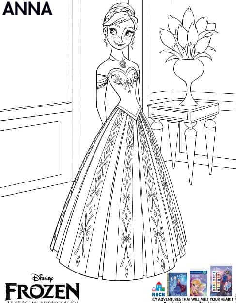 - 3 Free Frozen Printables ~ Coloring Pages - Farmer's Wife Rambles