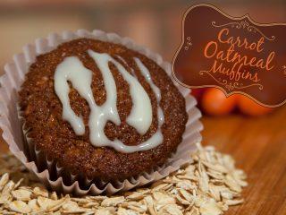Carrot Oatmeal Muffin