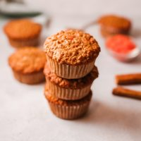 Carrot Oatmeal Muffins Recipe