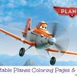 19 Printable Planes Coloring Pages & Games