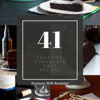 Count Them: 41 Tempting Chocolate Cake Recipes
