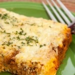 Spaghetti Squash Lasagna ~ Freezer Friendly