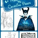 Maleficent Coloring Pages & Activity Pages
