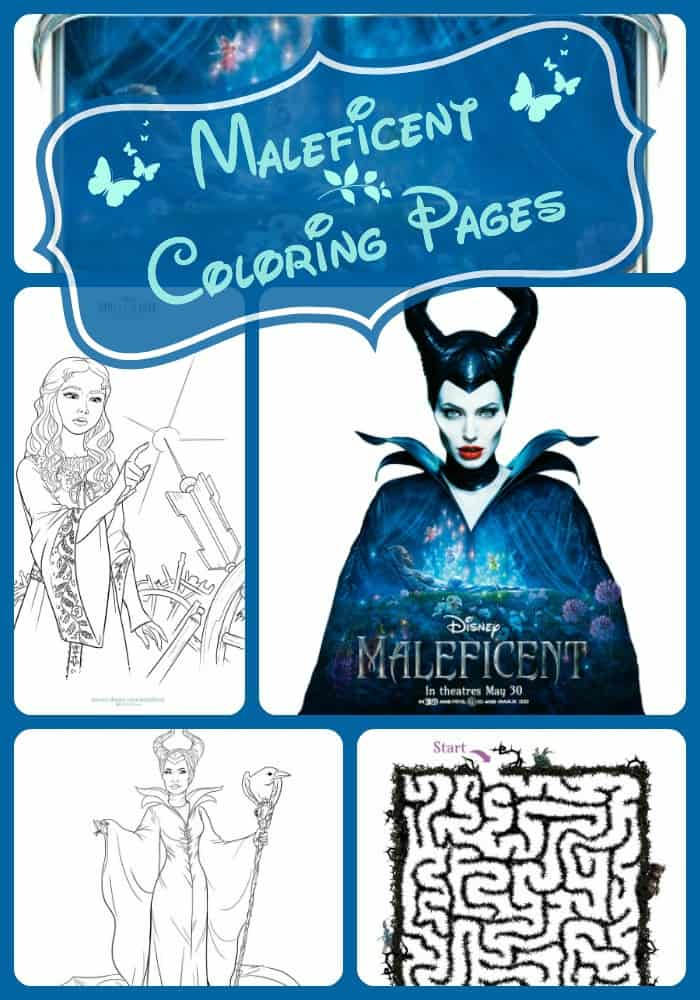 Maleficent coloring pages activity pages farmer 39 s wife for Maleficent coloring pages