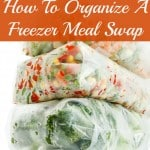 How To Organize A Freezer Meal Swap
