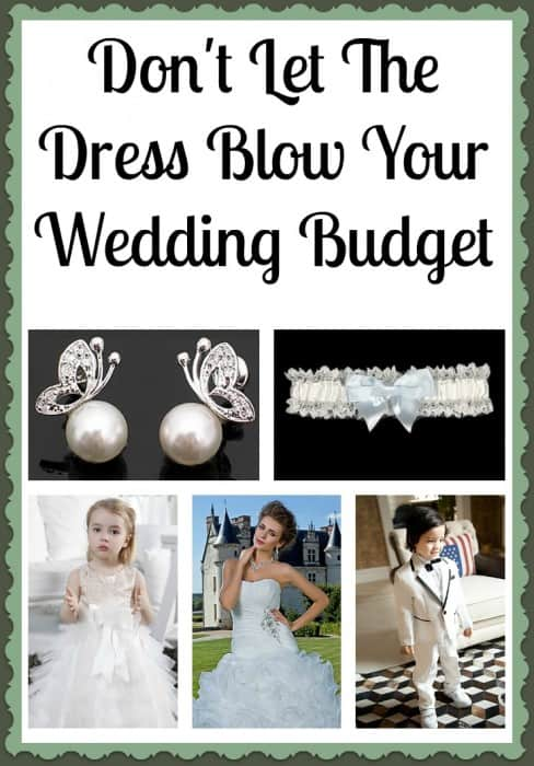 Don't Let The Dress Blow Your Wedding Budget