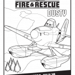 Planes Fire And Rescue Free Printables ~ Coloring Pages