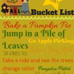 Free Kids Fall Bucket List Printable