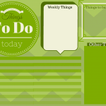 Printable To Do List In 3 Colors