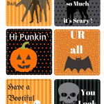 Free Halloween Printable Lunch Box Notes