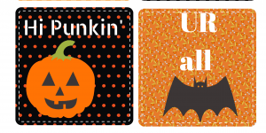 Halloween Printable Lunch Box Notes