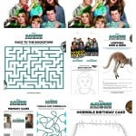 Alexander And The Terrible Horrible No Good Very Bad Day Activity Pages
