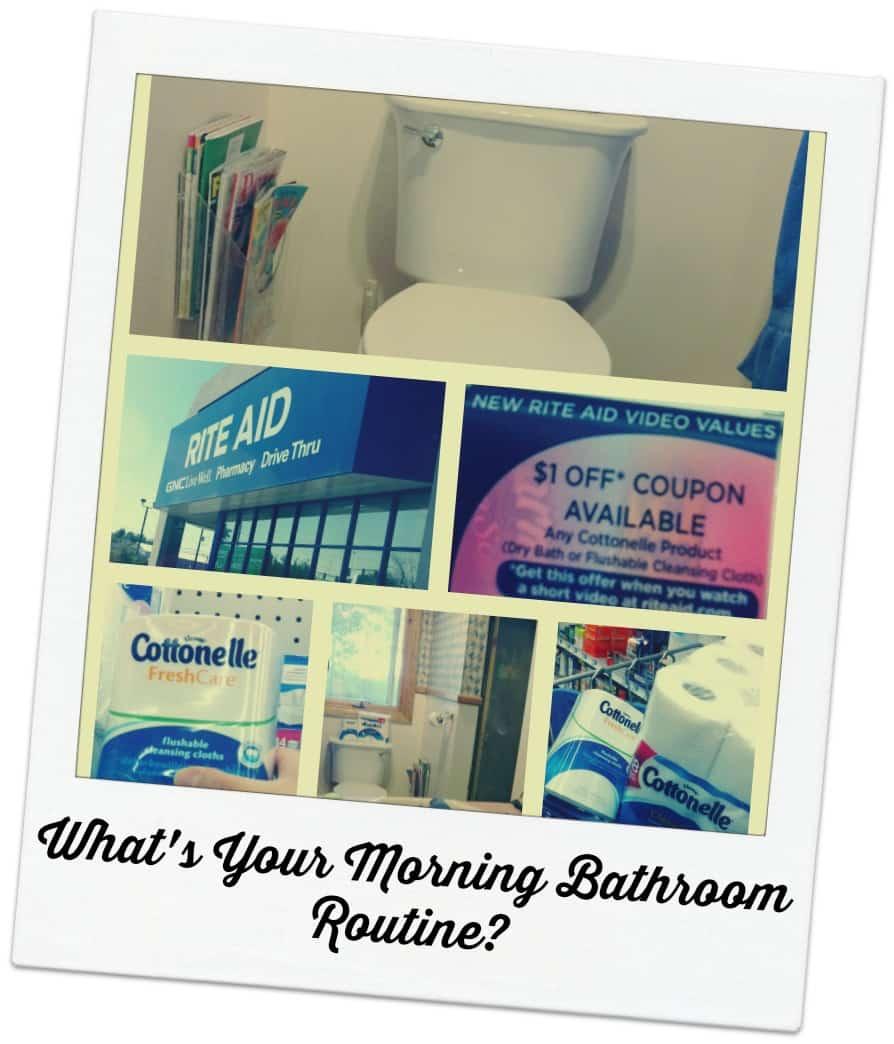 Cottonelle Morning Bathroom Routine