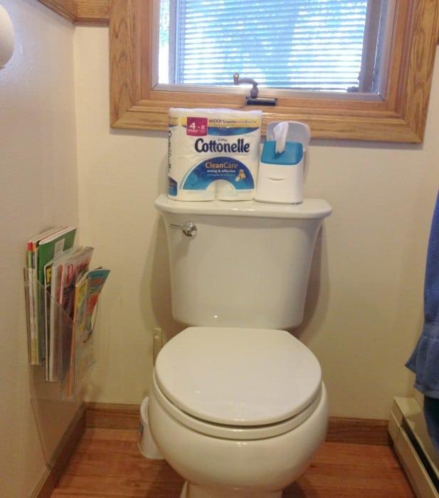 Cottonelle Bathroom Routine