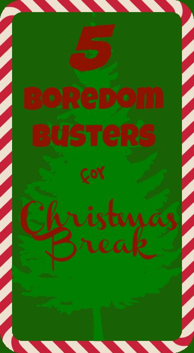 5 Boredom Busters for Christmas Break