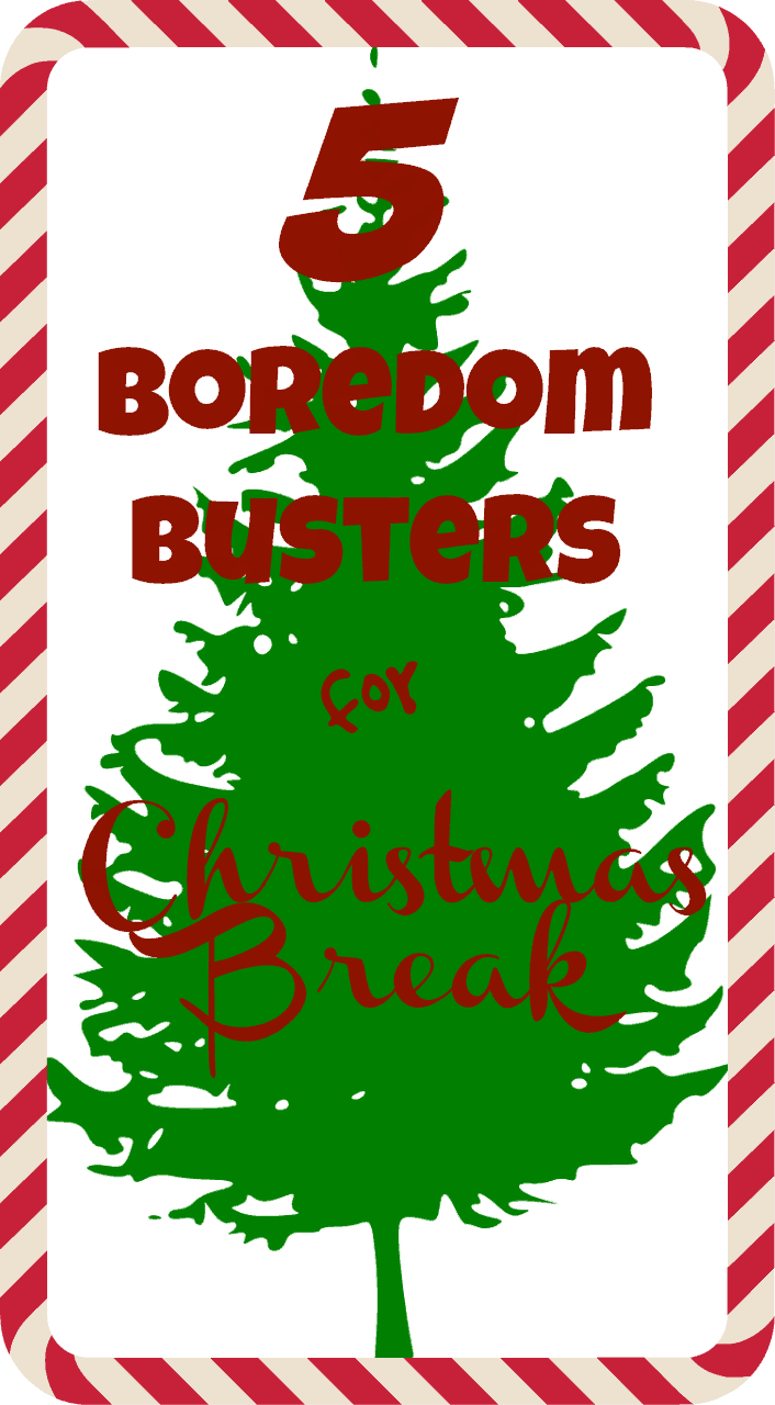 5 Boredom Busters for Christmas Break