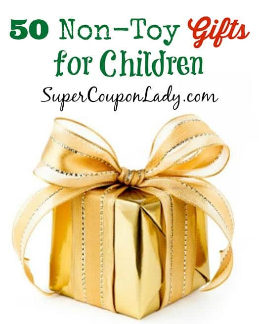 50 Non Toy Gift Ideas