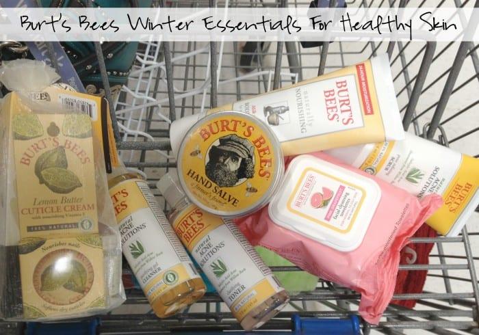 Burt's Bees Winter Essentials For Healthy Skin