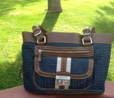 Fashionista Chaps Purse Giveaway