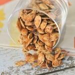 Cinnamon & Sugar Roasted Pumpkin Seeds
