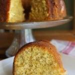 Fanta Orange Poppy Seed Bundt Cake ~ #SpookySnacks #CollectiveBias #shop