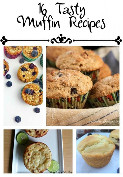 16 Tasty Muffin Recipes