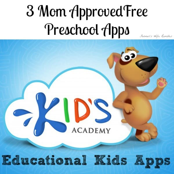 3 Free Preschool Apps That Inspire Learning & Are Mom Approved, learning apps, free itunes apps