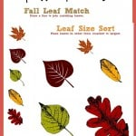 Free Fall Worksheets Printables