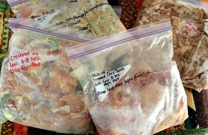 Freezer Meals To Avoid Holiday Stress
