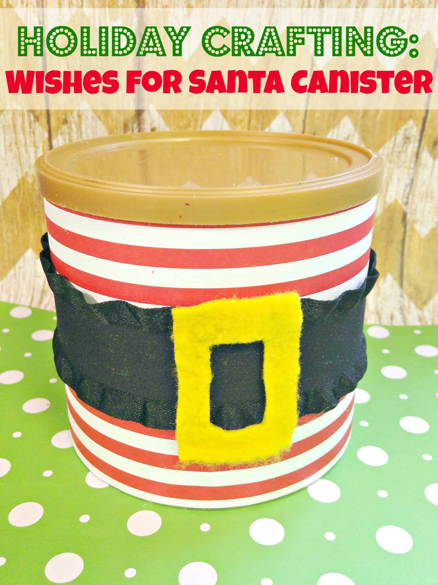 Easy Christmas Crafts Wishes for Santa Can