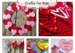 10 Valentine's Day Crafts for Kids
