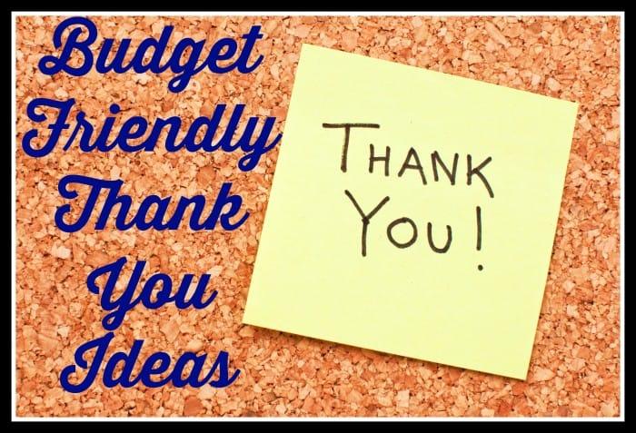 Inexpensive Thank You Ideas