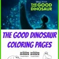 Free Coloring Pages from The Good Dinosaur Movie