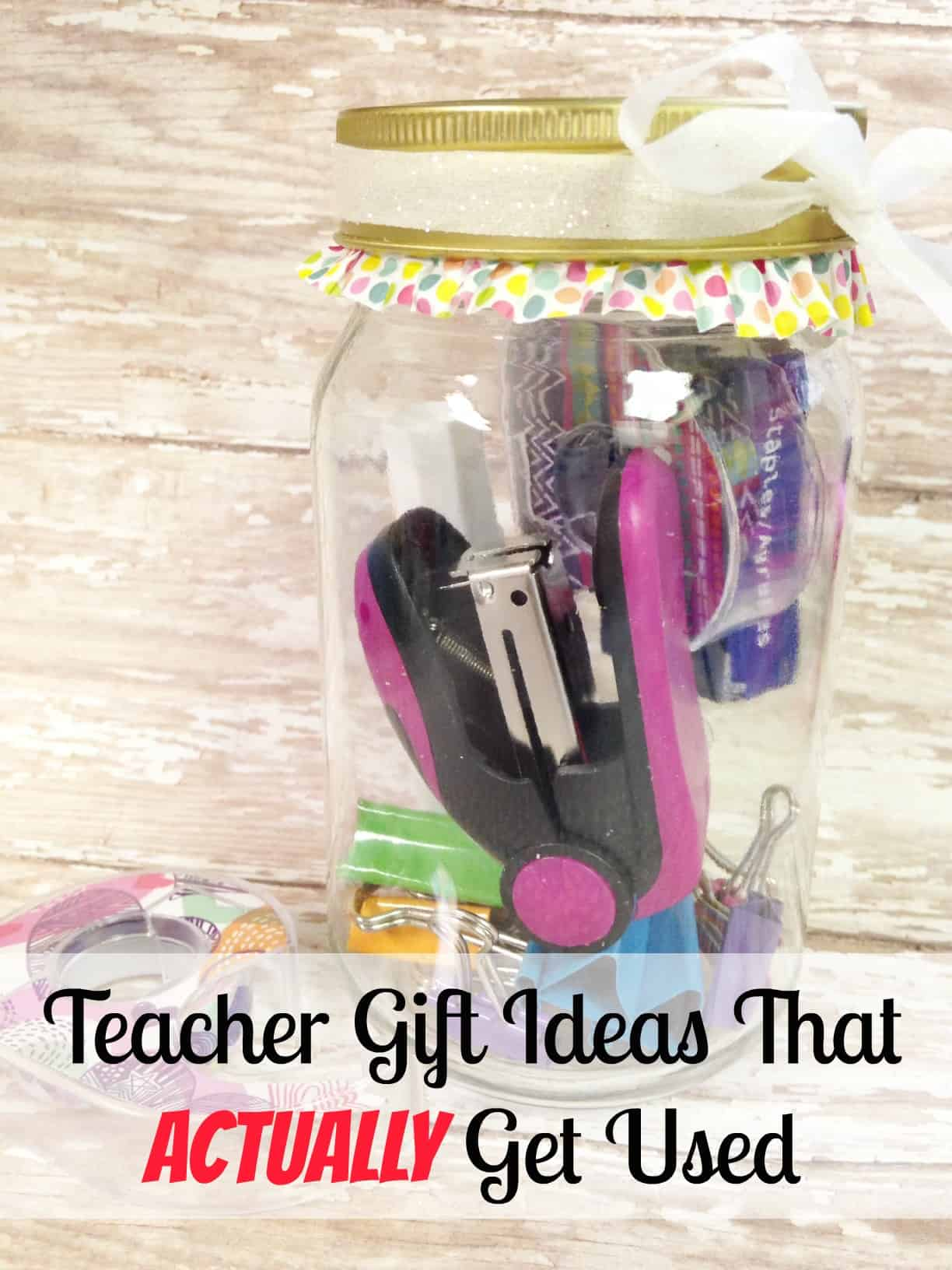 Teacher Gift Ideas That Actually Get Used - Farmer\'s Wife Rambles