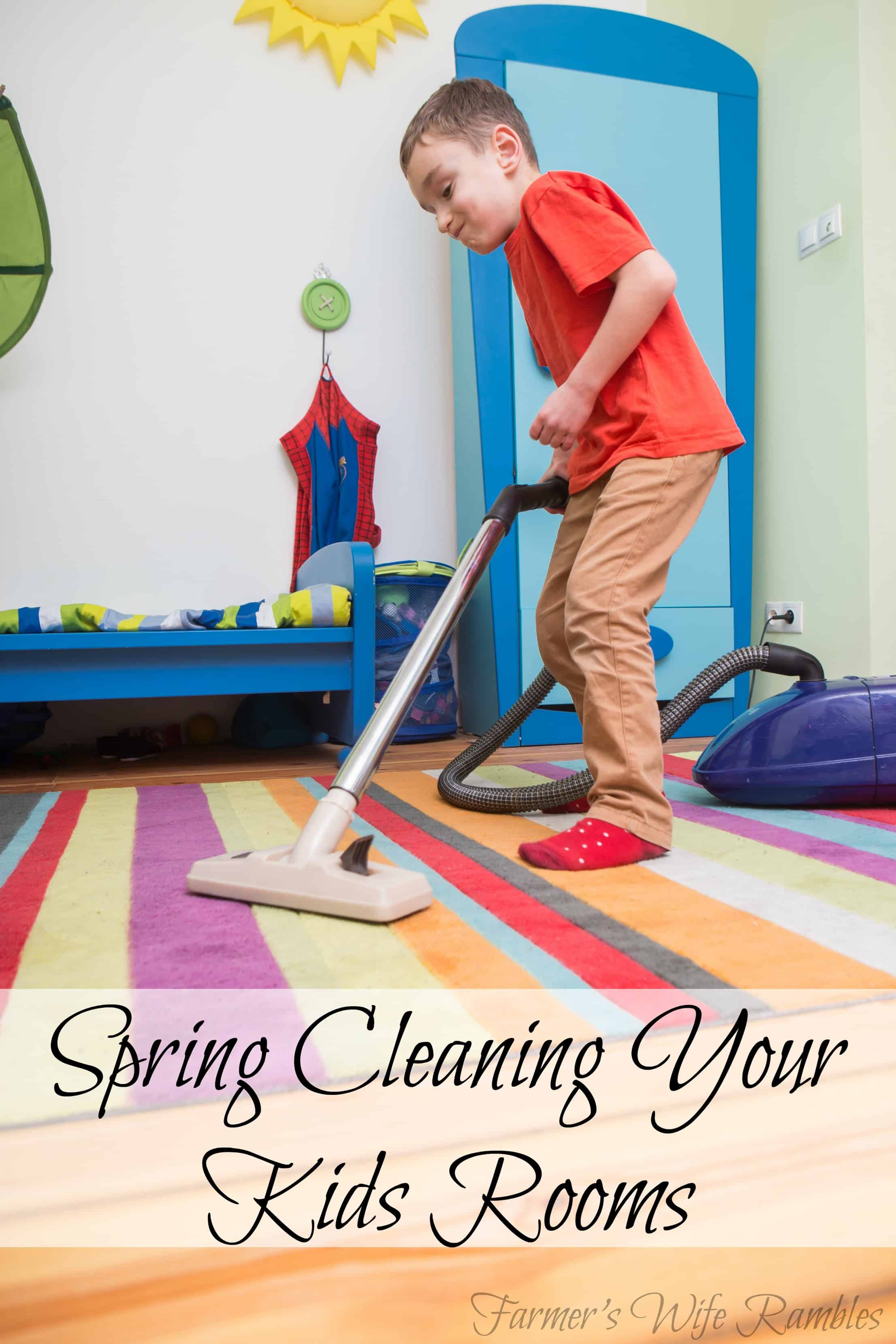 Spring Cleaning Your Kids Rooms - Farmer's Wife Rambles