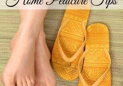 Tips For A Great Budget Friendly At Home Pedicure - Farmer's Wife Ramble